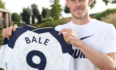 Tottenham Confirms Gareth Bale's New Shirt Number [SEE NUMBER]
