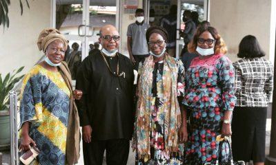 Ladies Wing Of Yoruba Tennis Club Donates Palliatives To LASUTH [PHOTO]