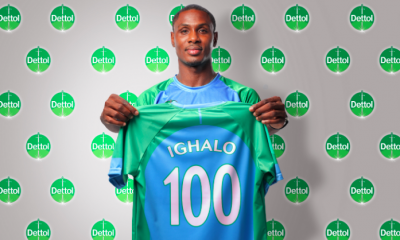 Manchester Striker, Odion Ighalo Is Dettol Cool New Brand Ambassador