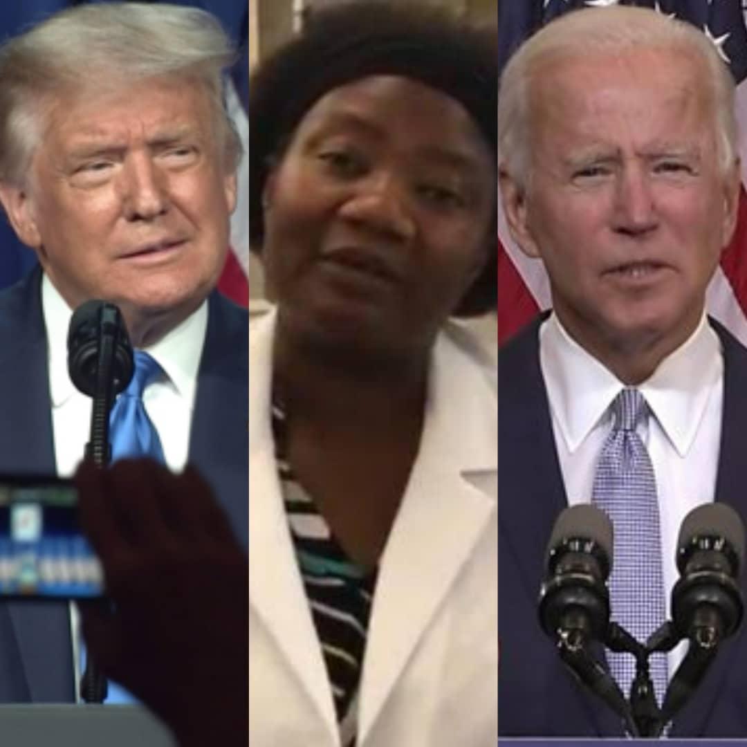 TRUMP Vs BIDEN 2020: Dr Stella Immanuel Predicts US Election Winner