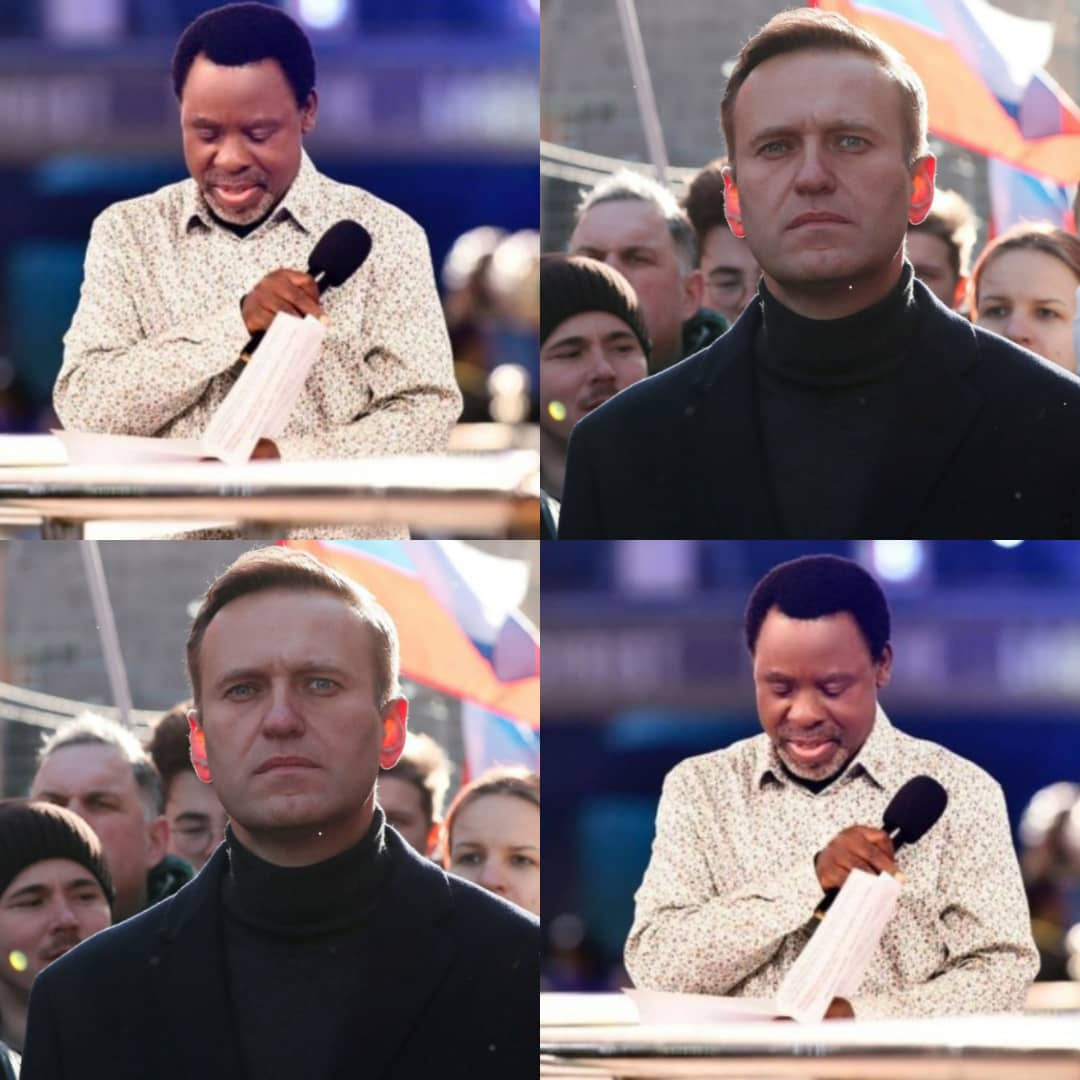 Poisoning Of Russian Opposition Leader Alexei Navalny Fulfils TB Joshua's 2020 Prophecy