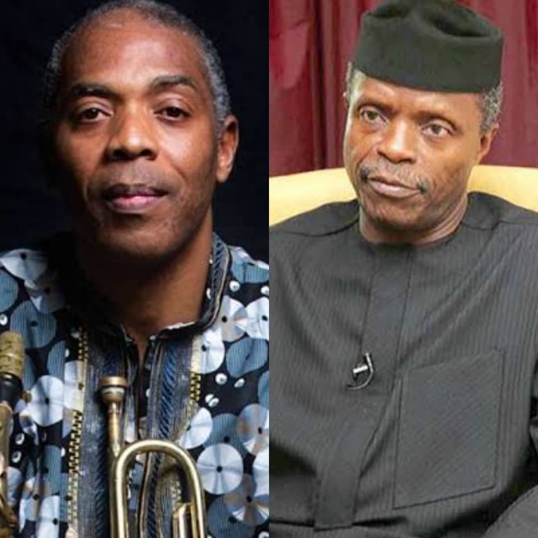 BUSTED!!! Why I Turned Down VP Osinbajo's Request, Femi Kuti Reveals