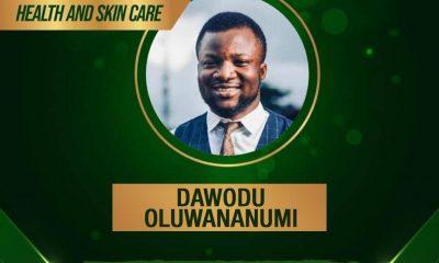 LASU'S Dawodu Oluwananumi Joshua Wins Sme100africa Most Enterprising Young Nigeria Award