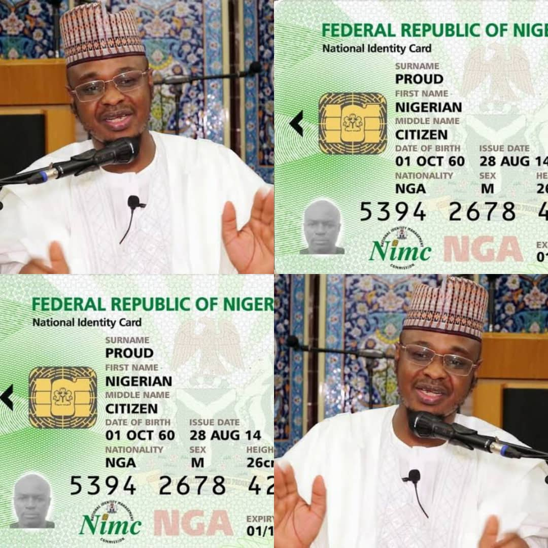 Federal Government To Replace National Identity Card (NIN) With Digital Numbers