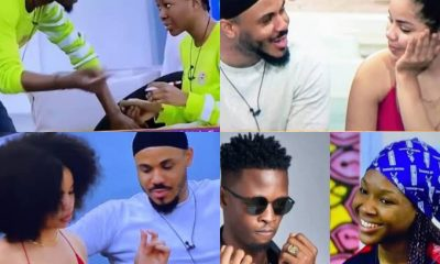 #BBNaija: Vee And Laycon Mocks Ozo For Following Nengi About [VIDEO]