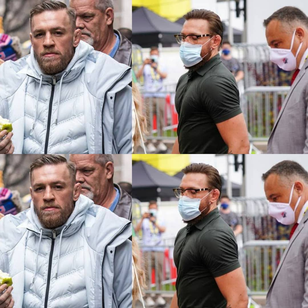 Famous UFC Star Conor McGregor Arrested In Corsica