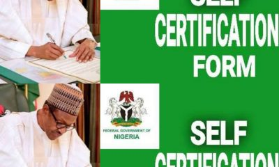 Angry Nigerians Attacks Buhari For Ordering Them To Fill Self-Certification Form