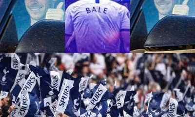Excitement As Tottenham Fans Besiege Training Ground To Welcome Gareth Bale [VIDEO]
