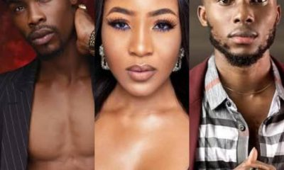#BBNaija: Mixed Reactions As Neo Claims To Have Bathed Naked With Erica And Brighto