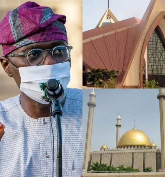 BREAKING: Lagos Govt Approves Full Reopening Of Places Of Worship