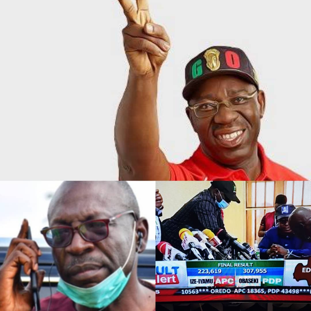 BREAKING: Victory For PDP As Godwin Obaseki Wins Re-Election [FULL RESULT] - #EdoDecides2020