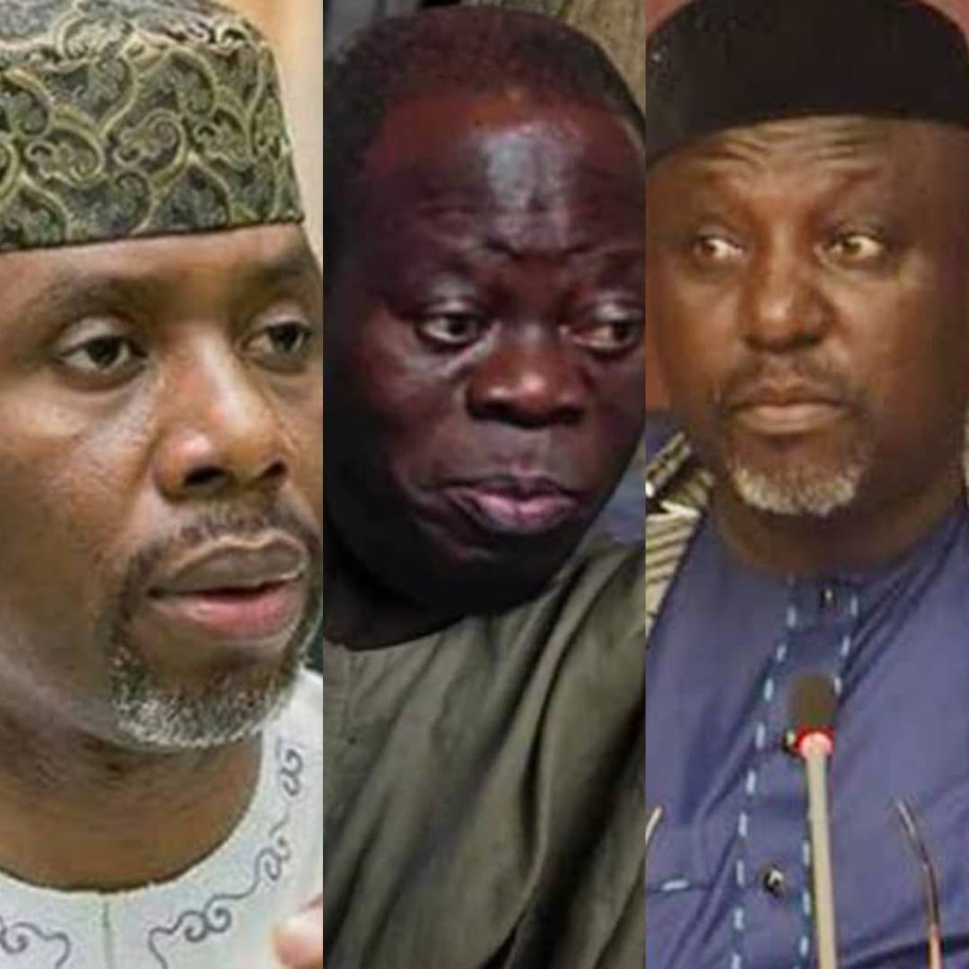 #EdoDecides2020: There's No More APC, Blame Oshiomhole - Okorocha, Nwosu Speaks