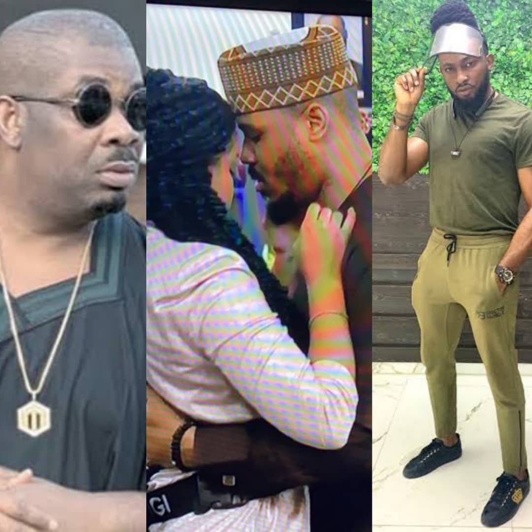 #BBNaijaLockdown: Don Jazzy And Uti Reacts To Ozo's Eviction And Love For Nengi