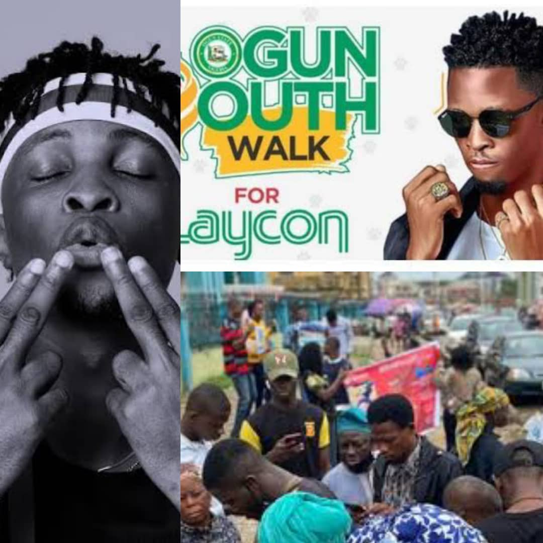 #LayCONSISTENT: Watch As Icons Hold Mega Rally For Laycon In Ogun State