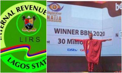 #BBNaija Winner: LIRS Tells Laycon To Be Prepared To Pay Tax