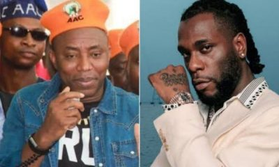 BURNA BOY: Why I Turned Down Sowore's Invite To Join #RevolutionNow