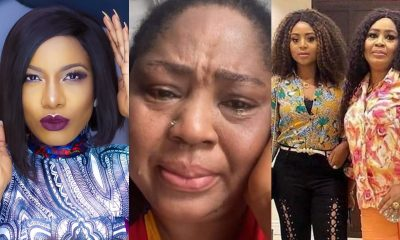 Stay Off My Daughter's Husband! Regina Daniels Mum Attacks Fellow Chika Ike [VIDEO]