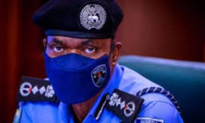 JUST IN: IGP Adamu Affirms 7500 Youths For Community Policing