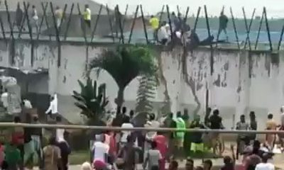PRISON BREAK: Hoodlums Set Prisoners Free In Benin During #EndSARS [VIDEO] - #EdoProtest