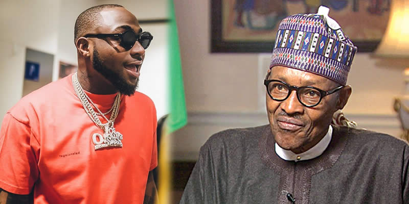 Davido Calls Out President Buhari For Only Addressing #EndSARS Protesters Once