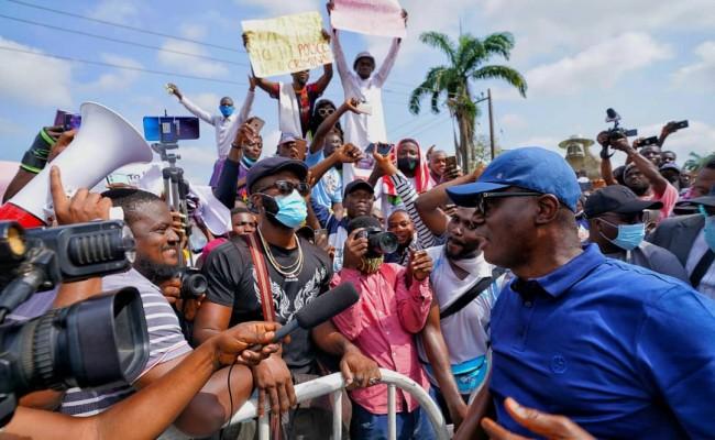 #ForAGreaterLagos: Sanwo-olu Sets Up Panel To investigate SARS Brutality