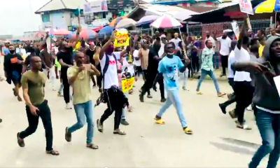 HAPPENING NOW!!! Youths Of Rivers State Defy Wike's Order, Begins #ENDSARS Protest [VIDEO]
