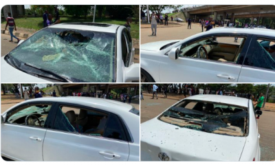 Pro-SARS Vs Anti-SARS: Peaceful Protest Turns Violent Amidst #EndSWAT Protest In Abuja - [PHOTOS & VIDEOS]