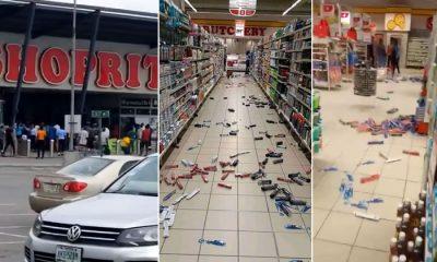 FRESH: Hoodlums Raid Shoprite Store In Sangotedo, Ajah [Video] - #LagosStateMassacre