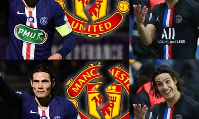 #EPL: Edinson Cavani And Manchester United In Talks Over Transfer Deal