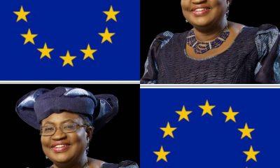 DG Of WTO RACE: European Union (EU) Pledges Support For Okonjo-Iweala