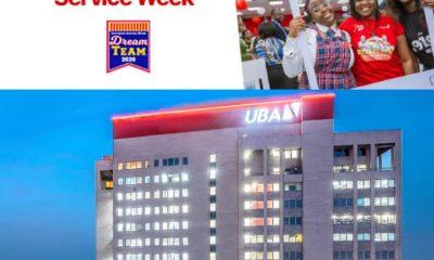 CUSTOMER SERVICE WEEK: UBA Hinges Customer SatisfactionOn Innovation, Optimisation And Upgrading Of Banking Platforms