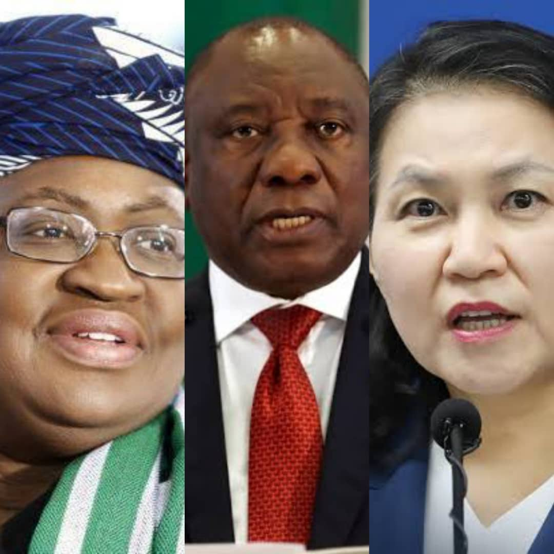 OKONJO IWEALA Vs MYUNG-HEE: South African President Disclose Preferred Choice For WTO DG Position