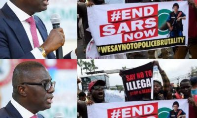 Governor Sanwo-Olu Renders Heartfelt Appeal To #EndSARS Protesters In Lagos