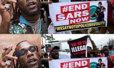 Why I Have Been Silent On #SARSMUSTEND Protest, Burna Boy