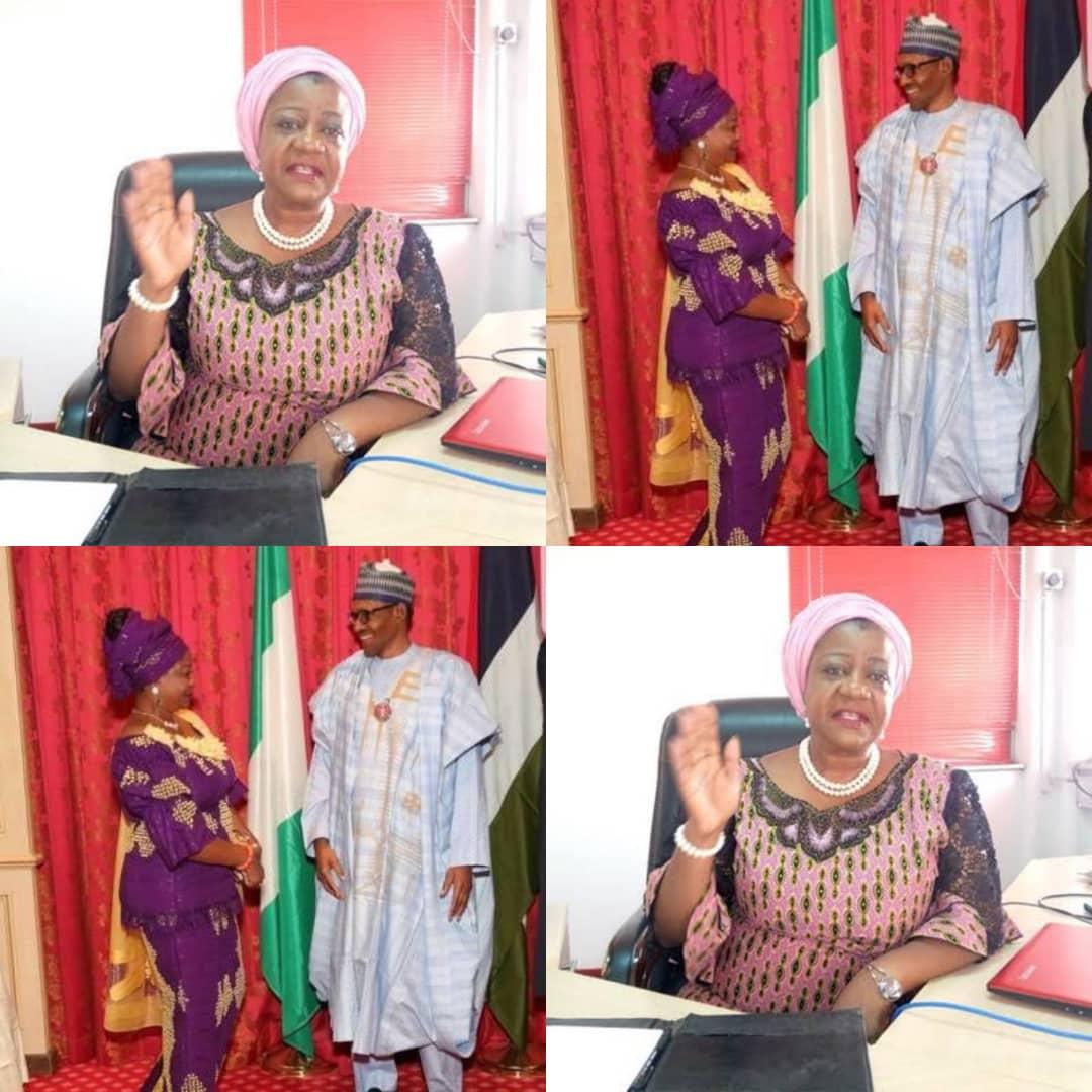 BREAKING: Amid #SARSMUSTENDNOW Protest Buhari Nominates Lauretta Onochie, 3 Three Others As INEC Commissioners