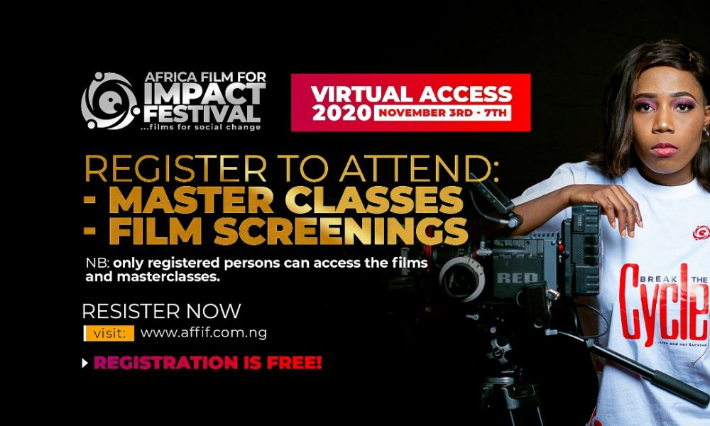 Africa's Finest Filmmakers To Host Masterclasses At AFFIF 2020