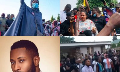 Nigerian Youths Go Spiritual Over #Endsars As Toyin Abraham, Other Join Movement