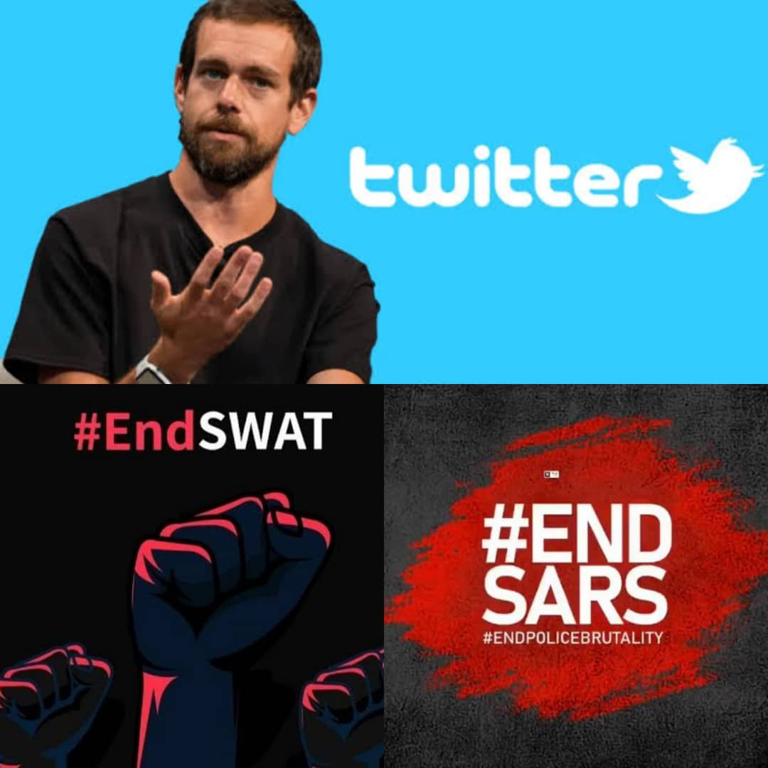 BREAKING: Twitter CEO Jack Dorsey Joins #EndSARS And #EndSWAT Movement