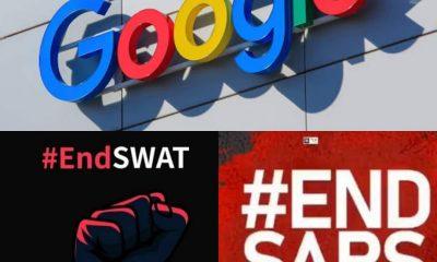 Google Joins #EndSARS And #EndSWAT Movement