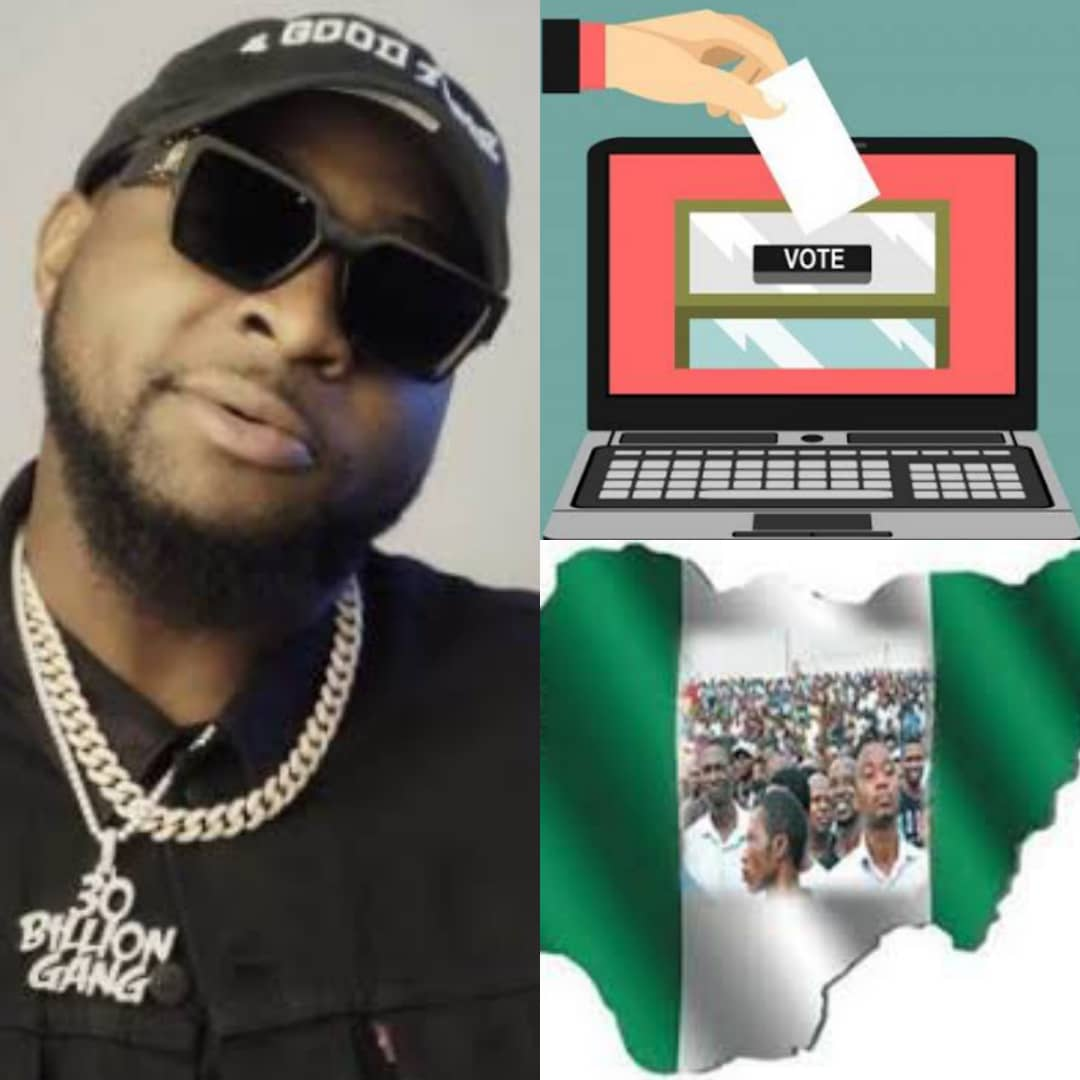 #NoMoreRigging: Why FG Must Introduce Electronic Voting In 2023 General Election - Davido
