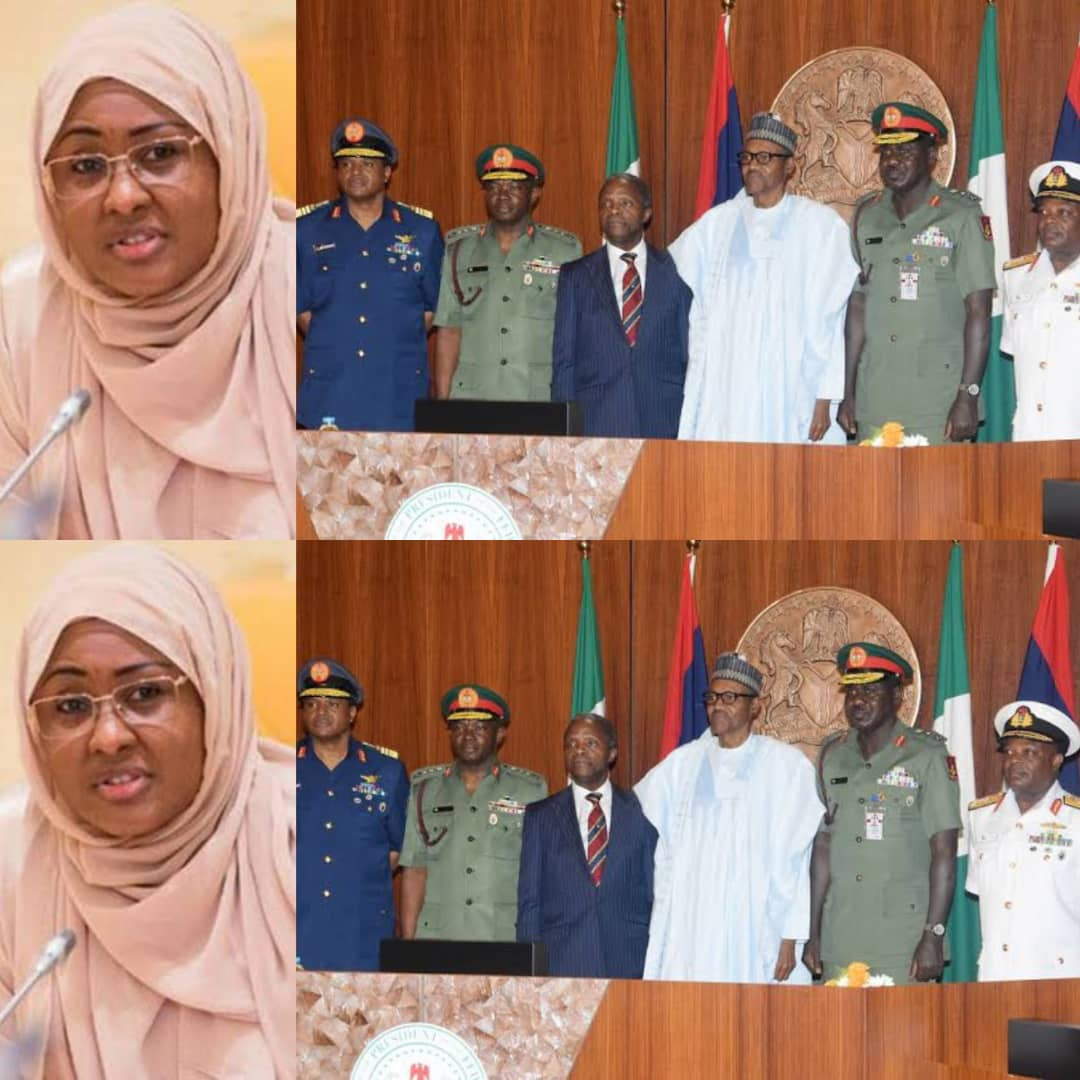 #Achechijamaa: Help The People, First Lady Tells Buhari And The Service Chiefs [Video]