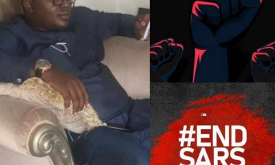 How Paid Thugs Stabbed Innocent Man To Death At #EndSARS Protest In Abuja [Photos]