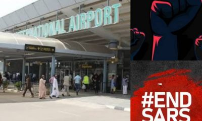 ATTENTION!!! #EndSARS And #EndSWAT Protesters To Shut Down Abuja Airport Today