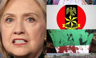BREAKING: Hillary Clinton Attacks Buhari And Nigerian Army For Killing Lekki #EndSARS Protesters - #LekkiMassacre