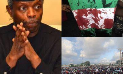 BREAKING: At Last, Vice-President Osibanjo Reacts To #LekkiMassacre