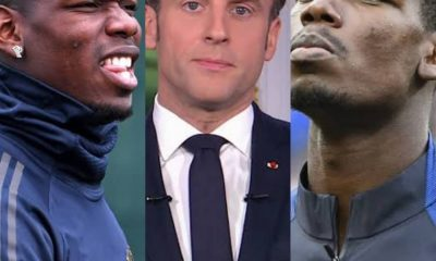 How Paul Pogba Allegedly Quit France National Team After President Macron Racist Comments