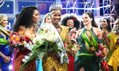24-Year-Old Shudufhadzo Musida Crowned Miss South Africa 2020