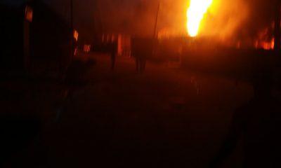 BREAKING: Pandemonium As Another Gas Explosion Rocks Baruwa, Lagos [PHOTOS/VIDEOS]]