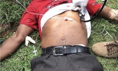 HAPPENING NOW!!! Another #EndSARS Protester Gunned Down In Surulere [GRAPHIC VIDEO]