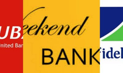 Check Out The 5 Banks That Open For Services On Saturday In Nigeria